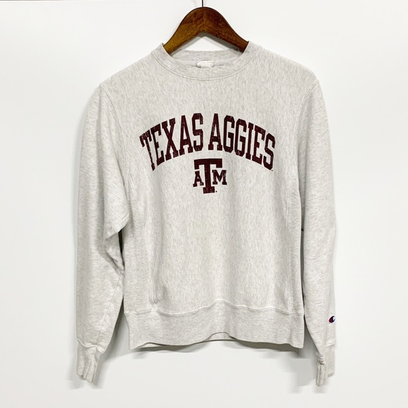 699a94887 Champion | Reverse Weave Texas A&M Sweatshirt
